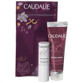 Caudalie Promo The Des Vignes Hand and Nail Cream 30ml & Lip Conditioner 4,5gr