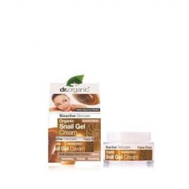 Dr.Organic Snail Gel Cream Ενυδατική Αντιγηραντική Κρέμα Προσώπου με Βιολογικό Έκκριμα Σαλιγκαριού 50ml