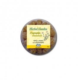 Inoplus Herbal Candies Chamolile Καραμέλες κατά του Στρες/Δυσπεψίας 70gr