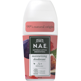 N.A.E Ενυδατικό Αποσμητικό Roll-on, Οργανική Πιστοποίηση COSMOS  & Vegan φόρμουλα, 50ml