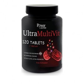Power Of Nature Ultramultivit 120 tablets
