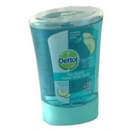 Dettol No-Touch Αντιβακτηριδιακό Ανταλλακτικό Κρεμοσάπονο Cucumber 250ml