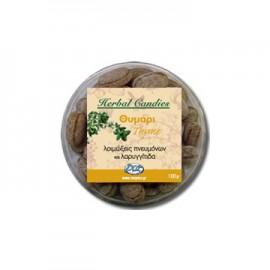 Inoplus Herbal Candies Thyme Καραμέλες για Λοιμώξεις Πνευμόνων & Λαρυγγίτιδα με Θυμάρι 70gr
