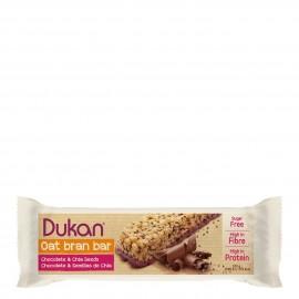 Dukan Μπάρες Βρώμης με Επικάλυψη Σοκολάτας και Σπόρους Chia 1τμχ