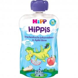 Hipp Hippis Παρασκεύασμα Φρούτων Μήλο,Αχλάδι,Dragon Fruit,Φραγκοστάφυλο Από 1 Έτους 100gr