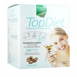Power Health Top Diet, Υποκατάστατο Γεύματος για τον Έλεγχο Σωματικού Βάρους με Γεύση Μόκα 350gr