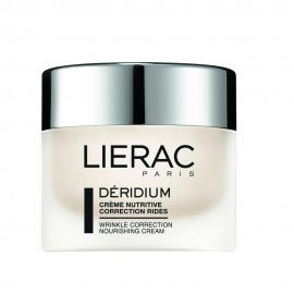 Lierac Déridium Crème Nutritive Correction Rides, Θρεπτική Αντιρυτιδική Κρέμα Προσώπου, Ξηρές/Πολύ Ξηρές 50ml