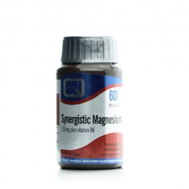 Quest Synergistic Magnesium 150mg With Vitamin B6, Μαγνήσιο με Βιταμίνη B6 60Tabs