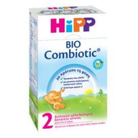 HiPP 2 Bio Combiotic Βιολογικό Γάλα 2ης Βρεφικής Ηλικίας, από τον 6ο μήνα, 600gr