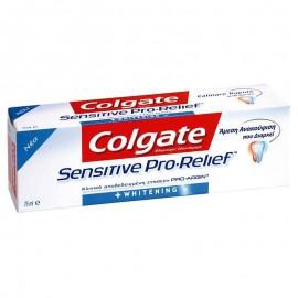 Colgate Sensitive Pro-Relief Whitening Λευκαντική Οδοντόκρεμα για Ευαίσθητα Δόντια 75ml