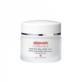 Skincode Protective Whitening Cream SPF12, Λευκαντική Κρέμα, 50ml