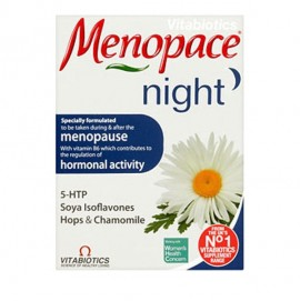 Vitabiotics Menopace Night, Συμπλήρωμα για τα Συμπτώματα της Εμμηνόπαυσης 30tabs