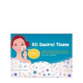 Vican Cettua Oil Control Tissue  Μαντηλάκια Αφαίρεσης της Λιπαρότητας 50τμχ