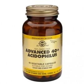 Solgar Advanced Acidophilus 40+ φυσιολογική εντερική κινητικότητα άνω των 40, 60 veg. tabs