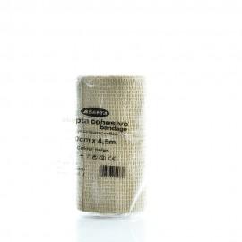 Asepta Cohesive Bandage Αυτοσυγκρατούμενος Επίδεσμος Μπεζ Χρώμα 10cmX4,5m 1τμχ