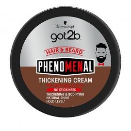Got2B Phenomenal Whip Thickening Cream Hair & Beard 100ml