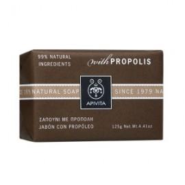 Apivita Natural Soap Σαπούνι με Πρόπολη για τις Λιπαρές επιδερμίδες 125gr