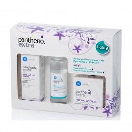 Panthenol Extra Promo Face & Eye Serum 30ml, Face & Eye Cream 50ml & Micellar True Cleanser 100ml