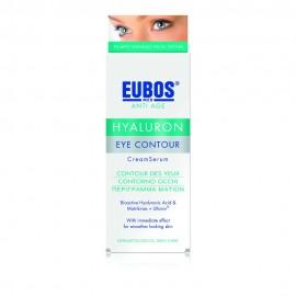 Eubos Hyaluron Eye Contour Cream, Αντιρυτιδική Κρέμα για το Περίγραμμα των Ματιών 15ml