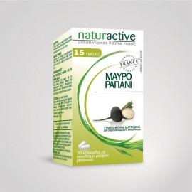 Naturactive Μαύρο Ραπάνι, 30 κάψουλες