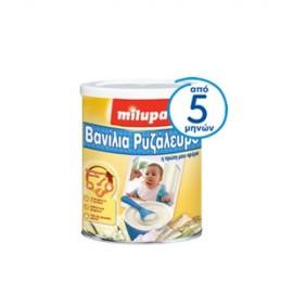 Milupa Βανίλια Ρυζάλευρο Βρεφική Κρέμα Δημητριακών με Γάλα, από 5 Μηνών 300gr