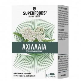 Superfoods Αχιλλαία, Διαταραχές Γαστρεντερικού 50caps