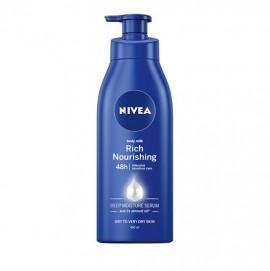 Nivea Nourishing Body Milk Γαλάκτωμα Σώματος για Ξηρές/Πολύ Ξηρές Επιδερμίδες 400ml