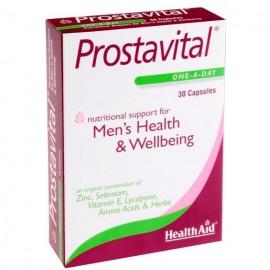 Health Aid Prostavital One a Day, Συμπλήρωμα Διατροφής για Υγιή Προστάτη 30Caps