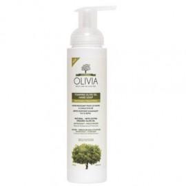 Olivia Foaming Soap Olive Flowers, Αφρίζον Σαπούνι Καθαρισμού για τα Χέρια με Έλαιο Λουλουδιών 265ml