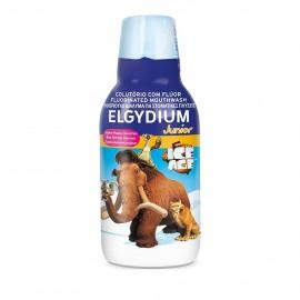 Elgydium Junior Ice Age Mouthwash Γεύση Κόκκινων Μούρων 500ml