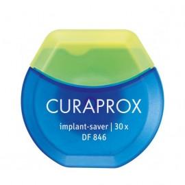 Curaprox Df 846 Implant Saver, Οδοντικό Νήμα για Εμφυτεύματα