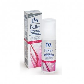 Eva Belle Serum, Αντιοξειδωτικός Ορός Εντατικής Ανάπλασης Προσώπου & Λαιμού με Υαλουρονικό Οξύ, 50ml