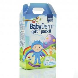 Intermed BabyDerm Gift Pack Απαλό 2 σε 1 Σαμπουάν&Αφρόλουτρο 300ml & Ενυδατική Κρέμα Σώματος 125ml