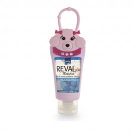 Intermed Reval Plus Antiseptic Hand Gel Lemon Σκυλάκι Ροζ 30ml
