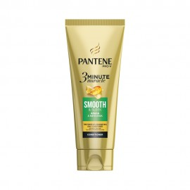 Pantene Pro-V 3 Minute Miracle Smooth&Sleek Conditioner Μαλακτική για Απαλά & Μεταξένια Μαλλιά 200ml