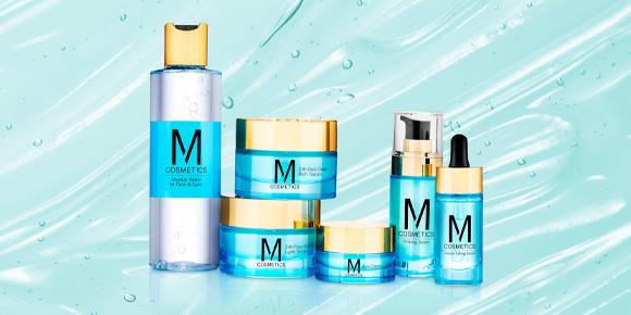 M Cosmetics medium banner