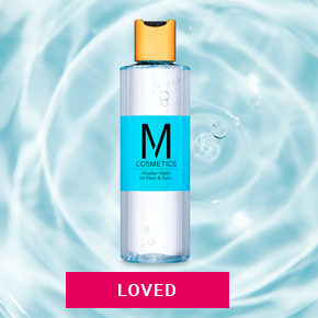 M Cosmetics small banner